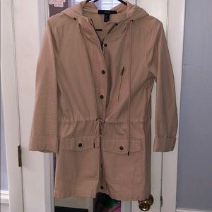 Forever 21 pale pink denim jacket